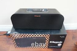 Klipsch Kmc 3 Wireless Center Kmc3 Bluetooth Aptx Haut-parleur Portable Avec Télécommande