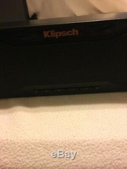 Klipsch R-10b Son Bar / Sans Fil Et À Distance Du Subwoofer Firing Côté Bluetooth
