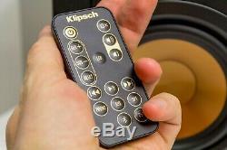 Klipsch R-15pm Powered Président Withbluetooth + Télécommande Paire, Cerise (1062681)