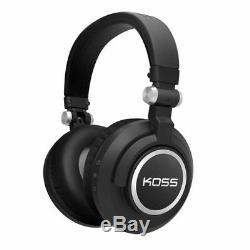 Koss Bt540i Headphones Bluetooth Sans Fil Avec Télécommande Et Microphone
