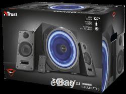 La Confiance Gxt688 Torro Light Up 2.1 Speaker System Avec Télécommande Sans Fil