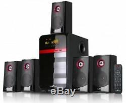 Le Son Surround Haut-parleur Bluetooth Amplificateur À Distance Du Canal Usb Sd Sortie Hdmi Fm