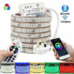 Led Rgb Led Atom Bande Sans Fil Bluetooth 220 V App 60-120 Led / M Rgb Led Strip