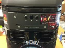 Lg Ok55 Loudr 500w Party Speaker System Karaoke Effets Dj No Remote Fm Antenne