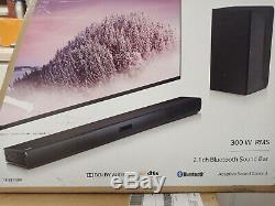 Lg Sl3d 300watts 2.1 Canaux Soundbar, Bluetooth, Sub Sans Fil, Télécommande