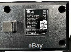 Lg Sound Bar Modèle Nb3520a Et Sans Fil Modèle Caisson De Basse Actif Shs36-d À Distance