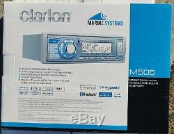 Marine Audio Clarion M505 Marine Am / Fm / Wb Bluetooth + Récepteur Sans Fil À Distance