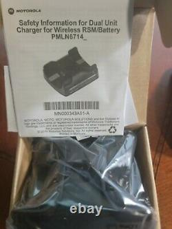 Motorola Apx, Bluetooth Haut-parleur À Distance Sans Fil MIC Rln6554a, Chargeur Double, Clip