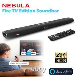 Nebula 2.1 Canal Bluetooth Soundbar Haut-parleur Wireless Subwoofer Avec Télécommande Vocale