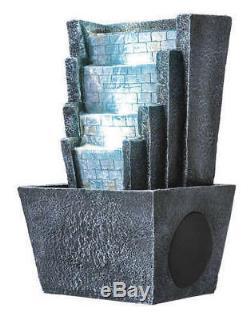 Nouveau Haut-parleur De Fontaine D'eau Sans Fil Bluetooth Sharper Image Avec Télécommande