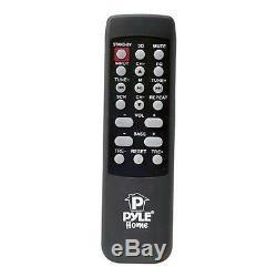 Nouveau Pyle Psbv200bt Haut-parleur Bluetooth 300w Radio Usb / Sd Aux Fm Et Télécommande