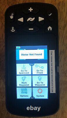 Nouvelle Marque Minn Kota I Pilot Link Sans Fil Bluetooth Remote Black Avec Chargeur