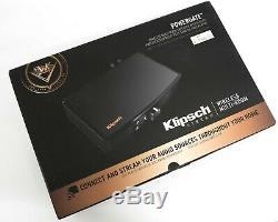 Nouvelle Passerelle Sans Fil Playfi Amplifiée Klipsch Powergate Wi-fi Bluetooth