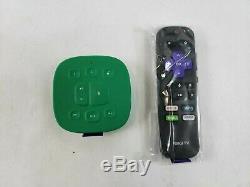 Open Box Roku Tv Sans Fil Avec Haut-parleurs Et La Voix Ds1293 Table À Distance Vert