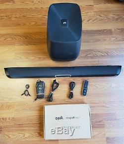 Polk Audio Surround Magnifi Max Bar Avec Bluetooth, Sub Sans Fil Avec Télécommande