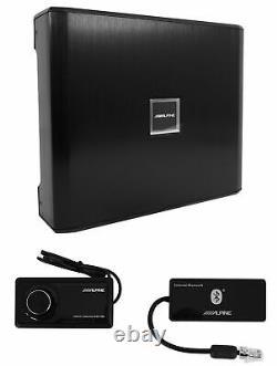Processeur De Son De Signal Numérique Alpine Pxe-x09 Avec Tuning+remote Bluetooth+wireless