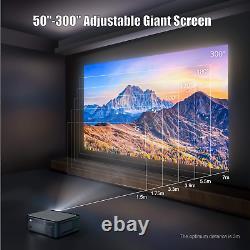 Projecteur Bluetooth Sans Fil 4k Full Hd 8500 Lumens 1080p Home Movie Video LCD
