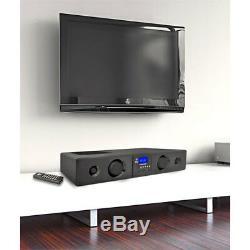 Pyle Psbv200bt 300w Bluetooth Soundbar Haut-parleur Radio Usb / Sd Aux Fm Et À Distance