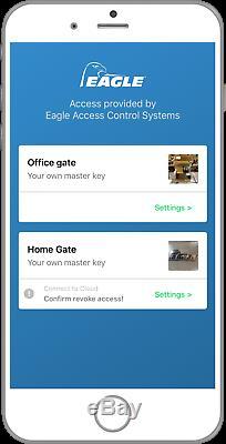 Récepteur À Distance Smartphone Sans Fil Eagle Open Bluetooth 4.0 Pour Portes Coulissantes