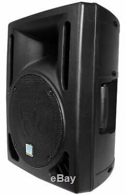 Rockville Rpg10bt V2 10 Powered 600w Dj Pa Président Bluetooth / Sans Fil / À Distance / Eq