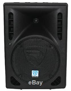 Rockville Rpg8bt V2 8 Powered 400w Dj Pa Président Bluetooth / Sans Fil / À Distance / Eq
