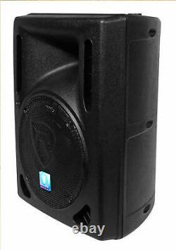Rockville Rpg8bt V2 8 Powered 400w Dj Pa Speaker Bluetooth/wireless/remote/eq