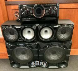 Samsung (mx-hs7000) Giga Sound System 2300watt 5 Système Piece Avec Télécommande