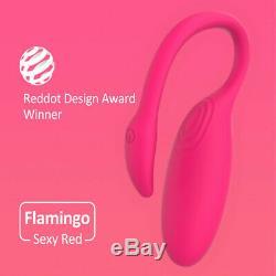 Sans Fil Bluetooth Téléphone App Télécommande Wearable Massager Vibration Panty