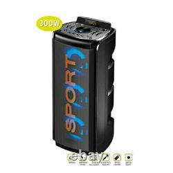Sansai Bluetooth Led Haut-parleur De Partie Sans Fil Fonction Complète Télécommande 5.0