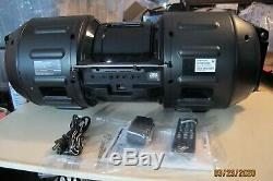 Sharp Gx-100w Bt9x Bluetooth Sans Fil Haut-parleur Portable Boombox Avec Télécommande