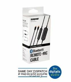 Shure Rmce-bt1, Câble D'accessoire Compatible Bluetooth Avec Télécommande Et Micro