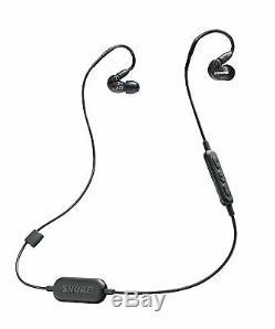 Shure Se215k-bt1 Écouteurs À Isolation Sonore Sans Fil Bluetooth Avec Télécommande Intégrée