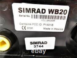 Simrad Wr20 Télécommande Avec Base Bluetooth Sans Fil Wb20 Testée Bon
