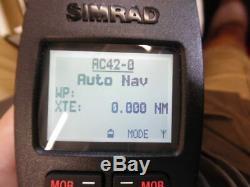 Simrad Wr20 Télécommande Sans Fil Avec Bluetooth Wb20 Base De Testée Bonne