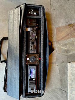 Slider Gvm 2d 2 Axes Sans Fil Fibre De Carbone Motorisé Slider + Bluetooth Remote