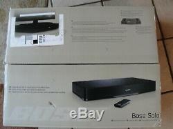 Solo Bose Tv Son Système 347205-1300 Avec Universal Remote Box Originale