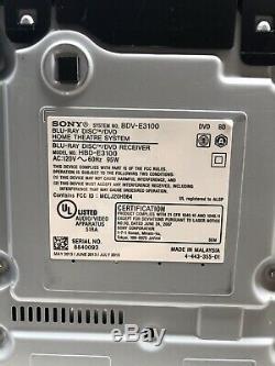 Sony Bdv-e3100 5.1 Canaux Surround Speaker System Avec Télécommande Non Caisson De Basses
