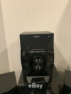 Sony Home Audio Stéréo Bluetooth Système Mhc-ecl99bt Avec Télécommande