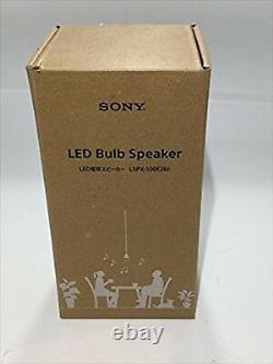 Sony Lspx-100e26j Ampoule Led Sans Fil Bluetooth Haut-parleur À Distance F / S Sal Japon Utilisé