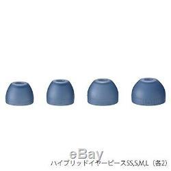 Sony Mdr-écouteurs Sans Fil Bluetooth Xb70bt L Microphone À Distance De Contrôle Bleu Nouveau