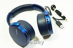 Sony Mdr-xb950bt Casque D'écoute Bluetooth Extra-grave Avec Micro À Distance (bleu)