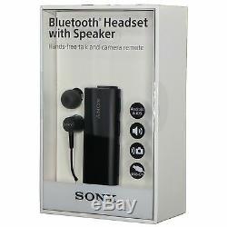 Sony Sbh56 Bluetooth Nfc One Touch Casque Avec Haut-parleur Caméra Télédiaphonie Noir