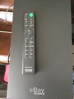 Sony Soundbar Avec Caisson De Basses Et À Distance Sa Ct80 À Peine Utilisé