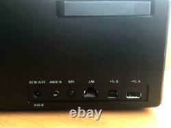 Sony Srs-x88 Portable Wireless Bluetooth Wi-fi Speaker Black W / Remote. Câble