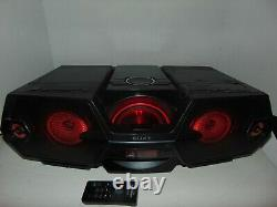 Sony Zs-btg900 Bluetooth Sans Fil Boombox Ghettoblaster CD Am Fm Radio Avec Télécommande