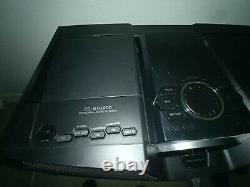 Sony Zs-btg900 Boombox Radio Portable Sans Fil Sans Fil Am/fm Bluetooth Avec Télécommande
