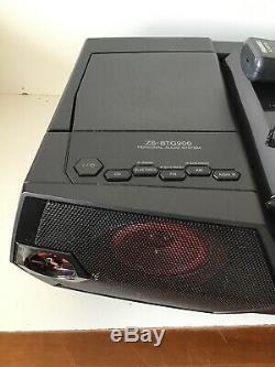 Sony Zs-btg900 Portable Nfc Bluetooth Sans Fil Boombox Système Haut-parleur Avec Télécommande