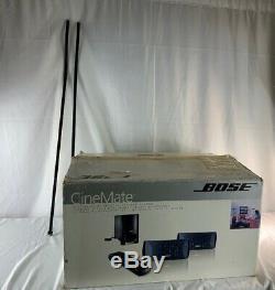 Système D'enceintes De Cinéma Maison Numérique Bose Cinemate Dans Une Boîte Avec Télécommande Et Supports