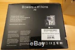 Système De Musique Sans Fil Hi-fi A5 Rc De Bowers & Wilkins Avec Airplay, N & B À Distance