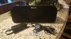 Système De Musique Sans Fil Klipsch Kmc 3 Avec Télécommande Et Bluetooth, Noir